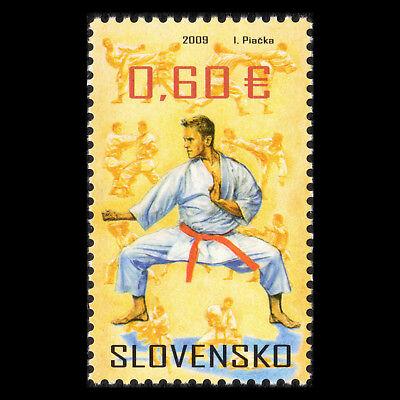 """Slovakia 2009 - Sports """"Martial Arts"""" Judo -  Sc 571 MNH"""