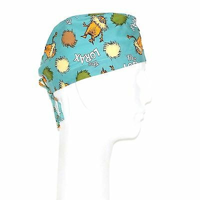 Dr. Seuss Lorax Theme Scrub Hat