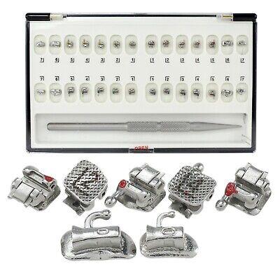 Damon Q Dental Orthodontic Self-ligating Metal Bracket Mbt 022 345 Hooks 7-7
