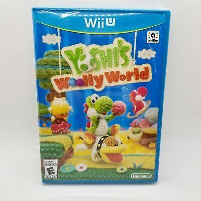 Yoshi's Woolly World Nintendo Wii U Brand New Sealed