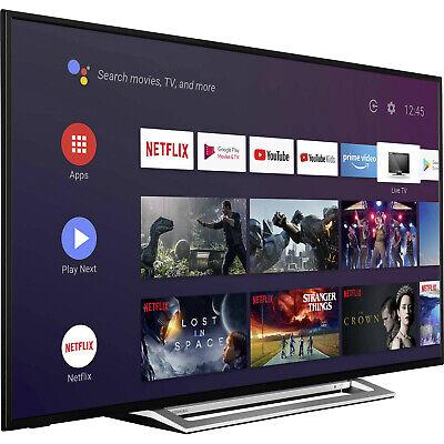 "SMART TV TOSHIBA LED 55"" POLLICI 4K ULTRA HD 2160P INTERNET TV WI-FI DVB-C/S2/T2"