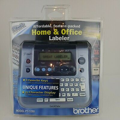 Brother Pt-1280 Label Thermal Printer. Home And Office