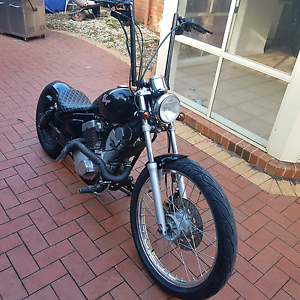 Custom bobber yamaha virago harley bagged tuff Westmeadows Hume Area Preview