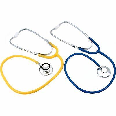 Single Dual Head Stethoscopes 2pcs Emt Nurse Ems Medical Physician Tools