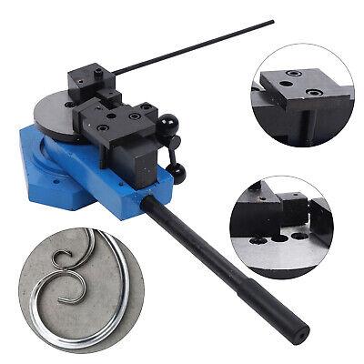 Metal Bender Bending Machine For Square Round Flat Steel Angle Bending Tool