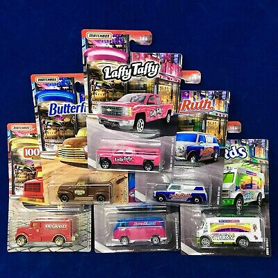 Matchbox Candy Cars Series Set Of 6 VW Delivery ,Silverado, Mini 2019 In Stock!