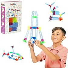 44 Pc Brackitz Inventor Educational Building Building Blocks Kid STEM Learning