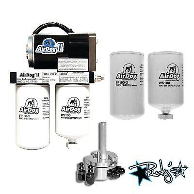 Airdog II-4G 165 GPH Lift Pump Extra Filters Sump 1992-2000 Chevrolet/GMC 6.5L