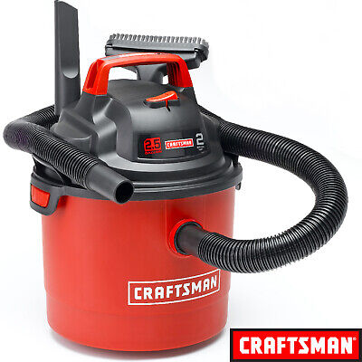 Craftsman Portable Vacuum Cleaner Wet Dry Car Shop Wall Mount Garage Blower Vac Craftsman Wet Dry Vacuums