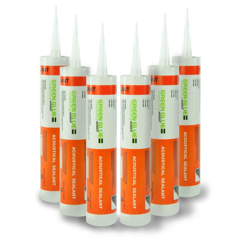 Green Glue Acoustical Sealant Caulk - Half Case (6 Tubes)
