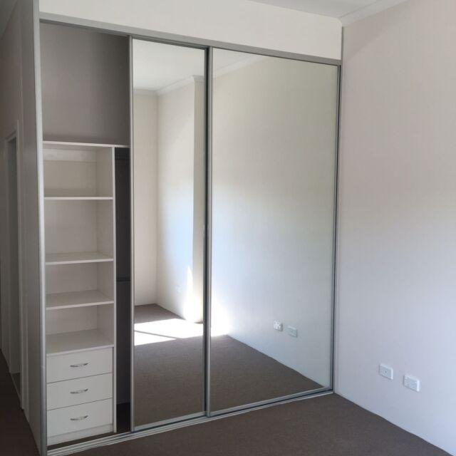 Est Wardrobe Mirrors Glass Doors, Replacement Mirror For Sliding Wardrobe Door