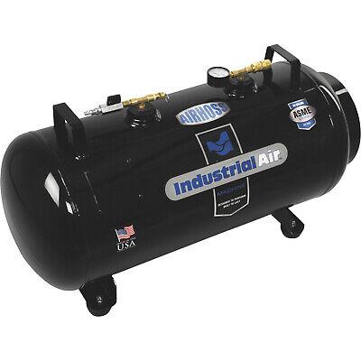 Industrial Portable Air Compressor Receiver Tank Vertical Horizontal 20 Gal