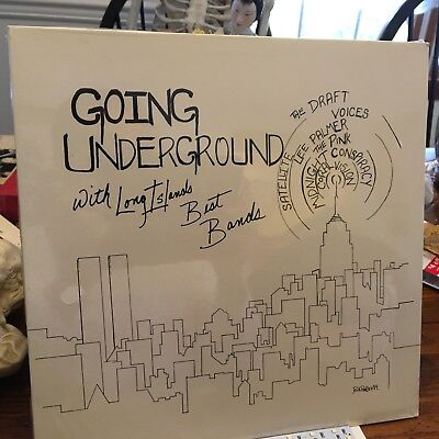 GOING UNDERGROUND LONG ISLAND's Best Bands 1984 LP V/A INDIE PRESS SEALED