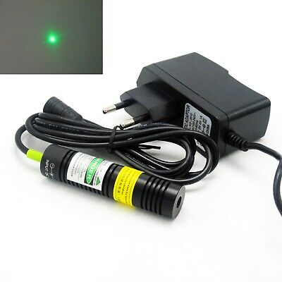 532nm 5mw Green Dot Laser Diode Module Long-time Working 18x75mm 5v Adapter