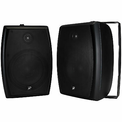 Dayton Audio Io655b 6 1 2  2 Way Indoor Outdoor Speaker Pair