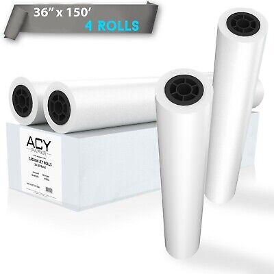 Plotter Paper 36 X 150 Cad Paper Rolls 20 Lb. Bond Paper On 2 Core 4 Rolls