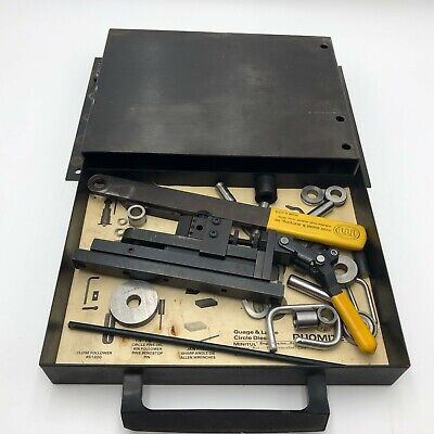 Vintage Duo-mite Hand Bender Model 604 Destaco With Tool Box