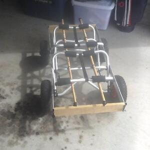 4 wheel buggy for kayaks/canoes Carrington Newcastle Area Preview