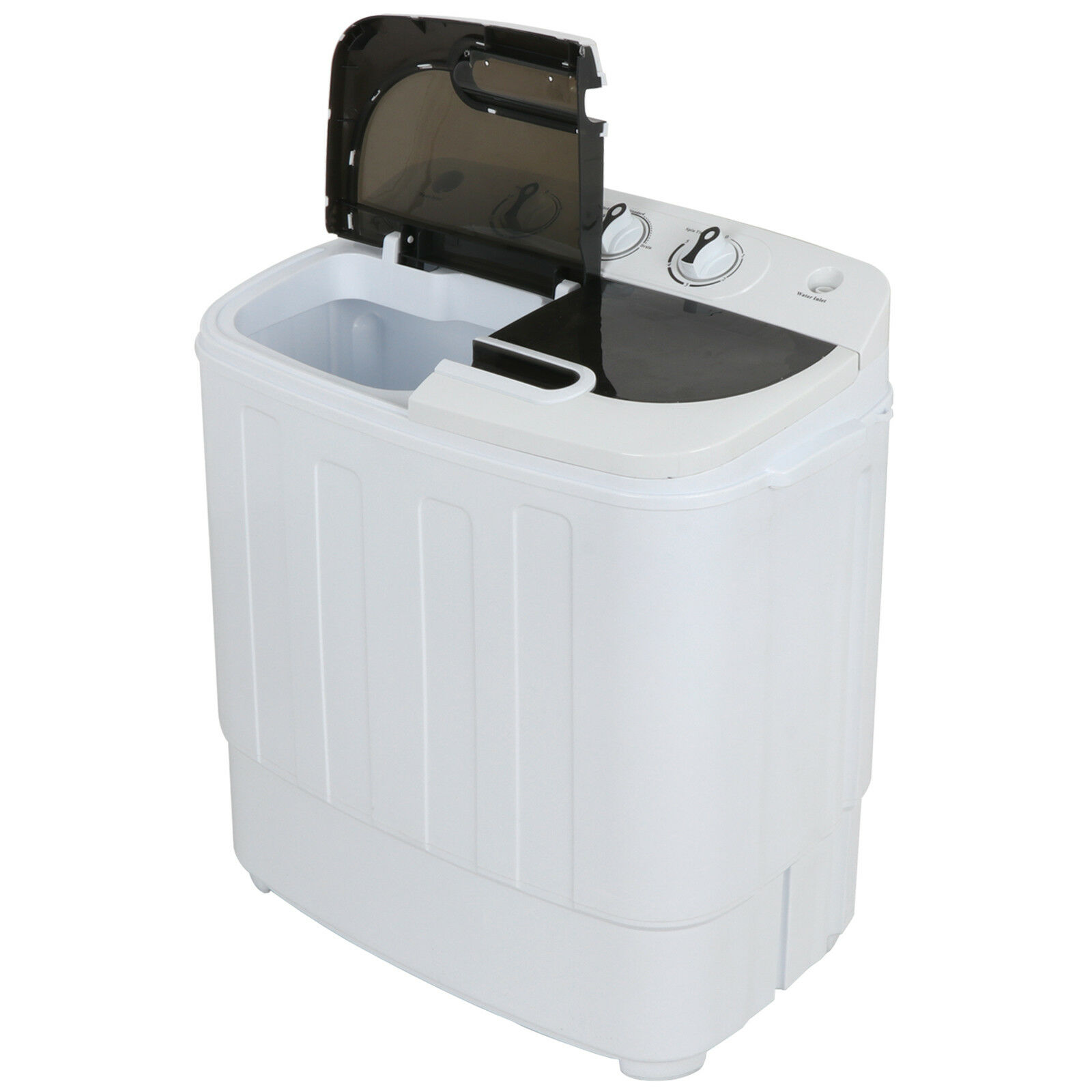 Compact Twin Tub Washing Machine Fast Dryer & Efficient Spin