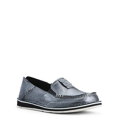 Ariat® Ladies Cruiser Pewter Grey Slip-On Shoes 10027386 (Cruiser Slip Ons)