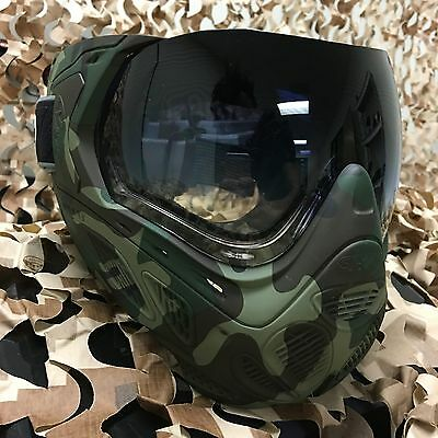 New Sly Profit Thermal Antifog Paintball Mask Goggle Series   Full Woodland Camo
