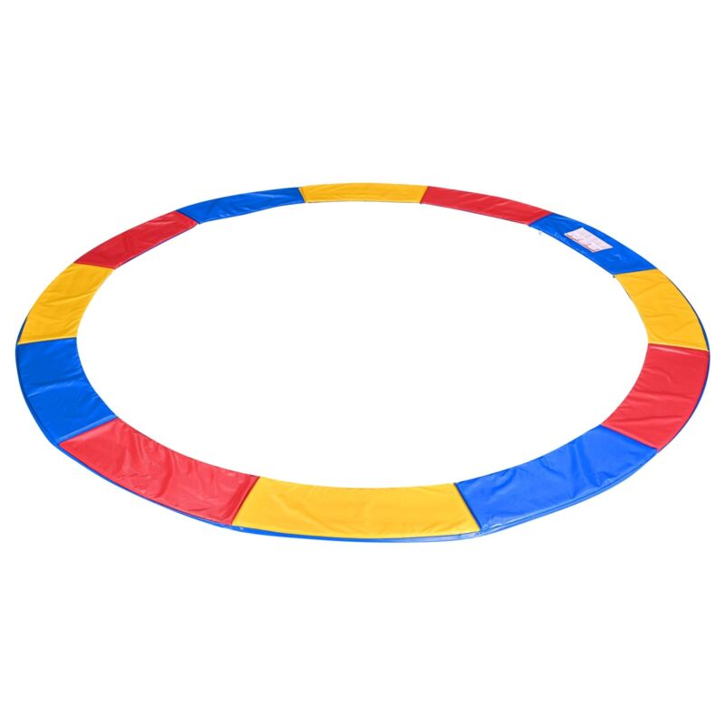 12 Ft Universal Replacement Round Trampoline Safety Pad PVC EPE Foam Protection