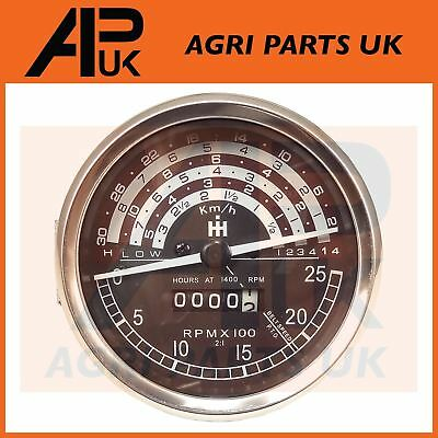 Case International IH B250,B275,B414,276,434,444,B Tractor Tachometer Rev Gauge for sale  Shipping to United States