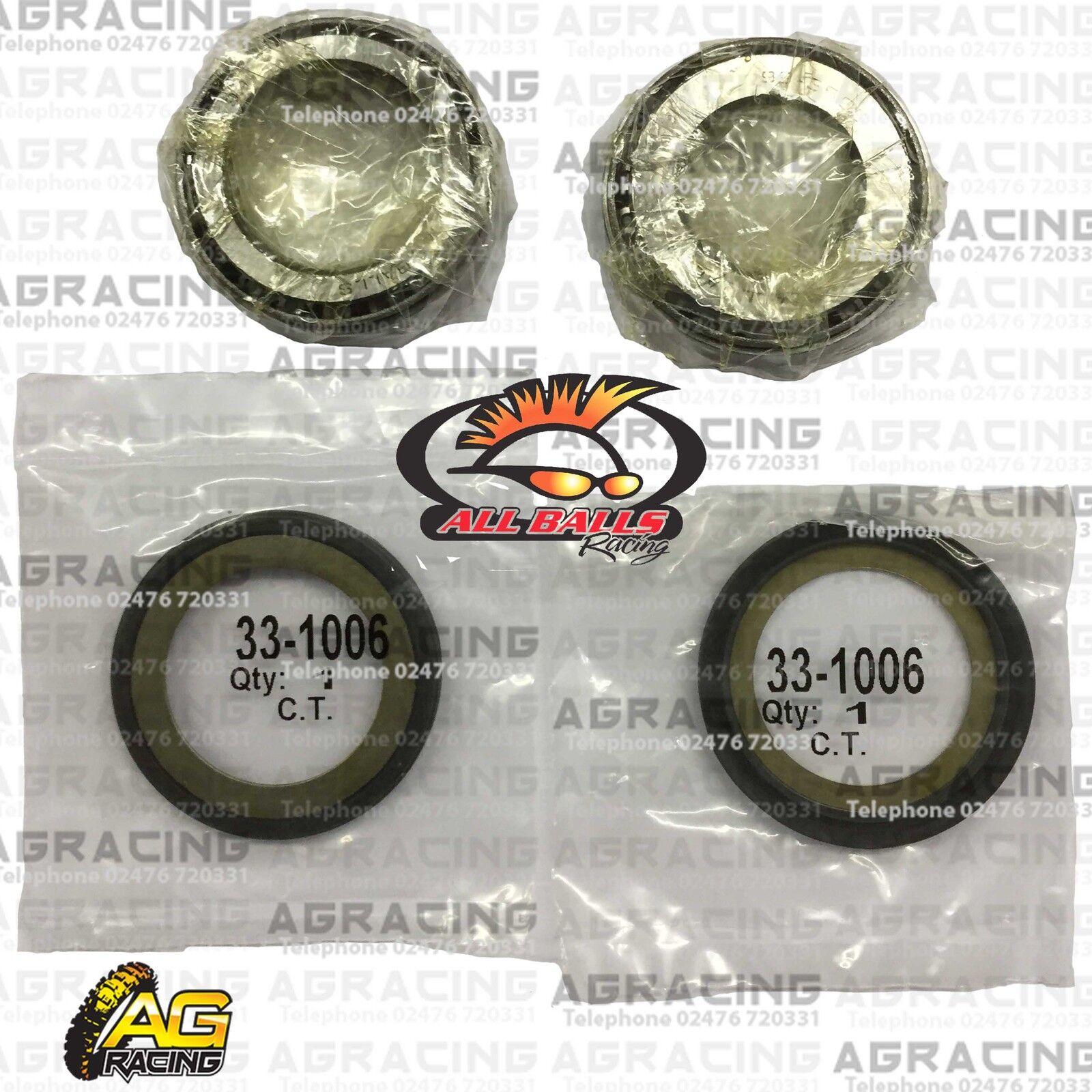 Steering Head Bearings /& Both Seals Yamaha XV535 Virago 1987 to 1999