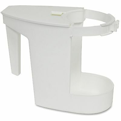 (Genuine Joe Toilet Bowl Mop Caddy, 12/CT, White 85121CT)