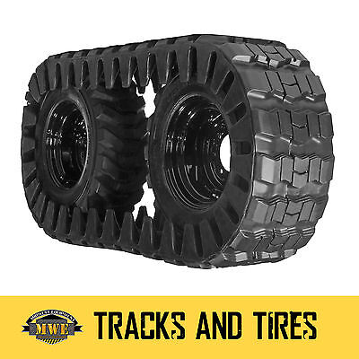 Case 450 Skid Steer 2 Camso Extreme Duty Over-the-tire Tracks - Fits 12-16.5 Tir