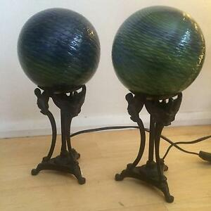 Pair of bedside table lamps Croydon Burwood Area Preview