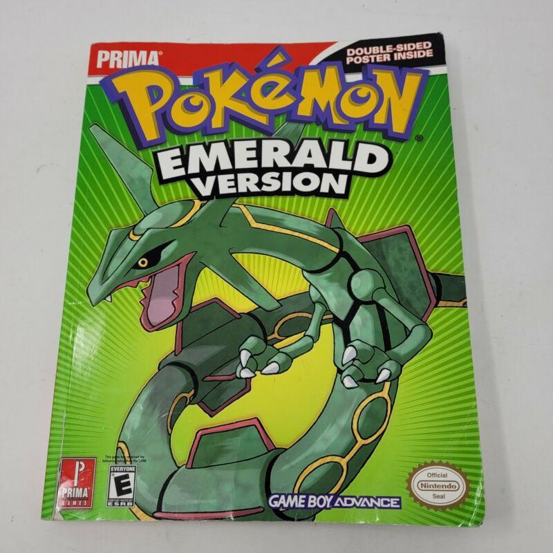 Prima Pokemon Emerald version gameboy advance nintendo power strategy guide