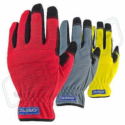Jorestech All Purpose Mechanics Gloves- Great High Dexterity Gloves