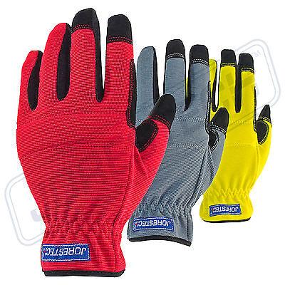 Jorestech All Purpose Mechanics Gloves- Great High Dexterity Gloves