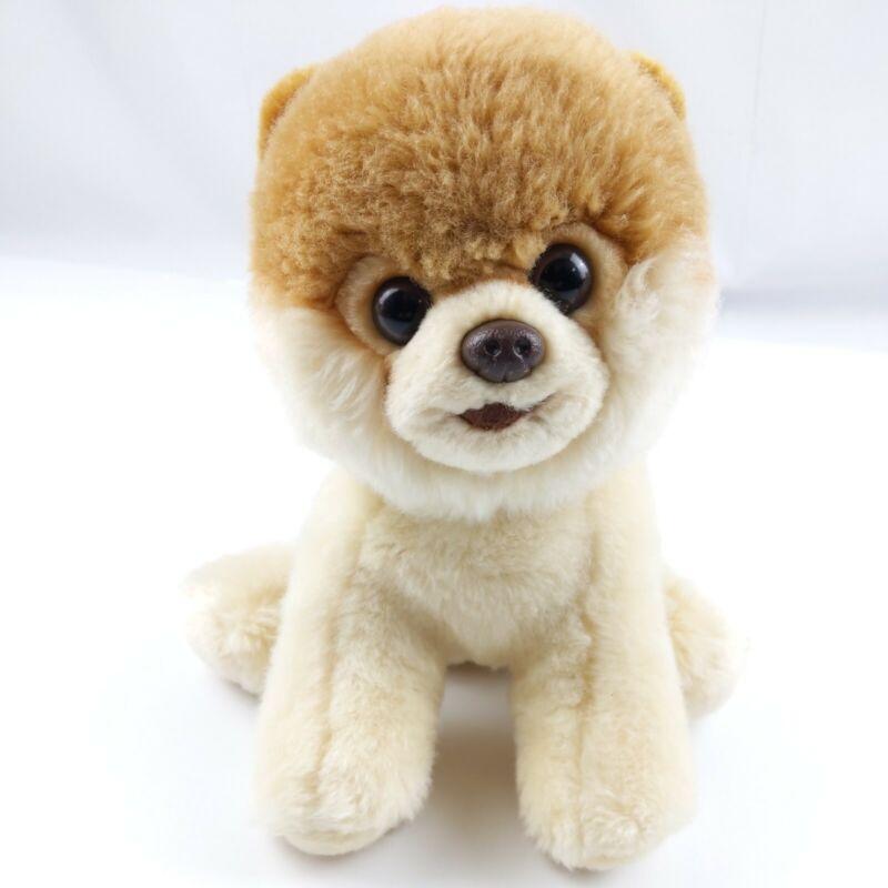 "Gund Boo Plush Pomeranian Dog Toy Worlds Cutest Dog 10"" Stuffed Animal Tan"
