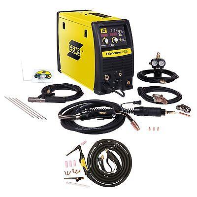 Esab Fabricator 252i Mig Tig Stick Welder Pkg. W1004401 W4013600