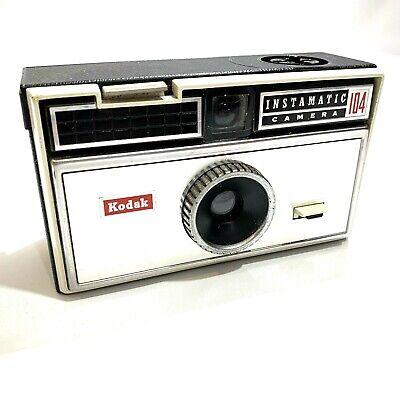 Kodak Vintage Film Camera Instamatic 104 Photography Collectable Photographer