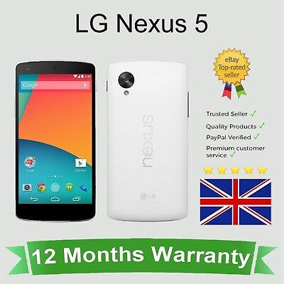 Unlocked LG Nexus 5 Android Mobile Phone - 16GB White