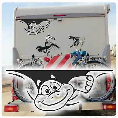 Schildkröte Auto Aufkleber (Schildkröte Sticker Auto Aufkleber Wohnmobil WOMO Hetz mich nicht WoMo051)
