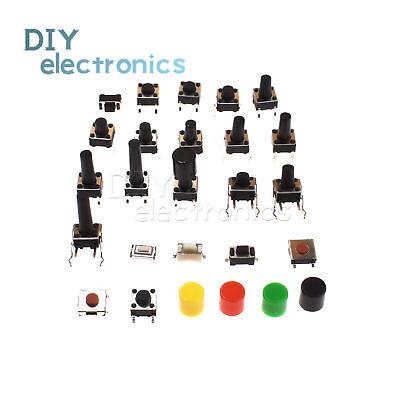 Smddip Push Button Micro Switch Tact Switch 3x6x2.5mm-6x6x17mm 245 Pin Us