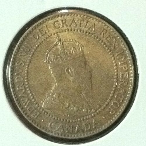 Canada  Cent  KM 8  Brn Unc  1910