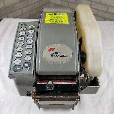 Better Pack Model 500 Packing Tape Machine Dispenser. Works Plus 4 Tape Rolls