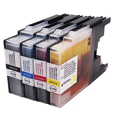4 Multi-Pack Ink Cartridge LC71 LC75 For Brother MFC-J435W MFC-J625DW MFC-J825DW 4 Ink Multi Pack