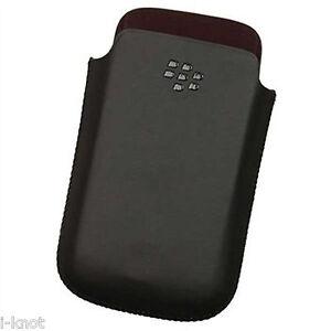 Genuine-Blackberry-Leather-Pocket-Pouch-Case-For-9300-Curve-9780-9700-Bold-BLAK