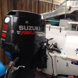 Outboard motor SUZUKI 70 hp 2008 low hrs MELBOURNE 4 stroke Altona Hobsons Bay Area Preview