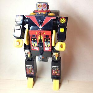 1985 THUNDER BOT ROBOT/BLACK THUNDER HELI