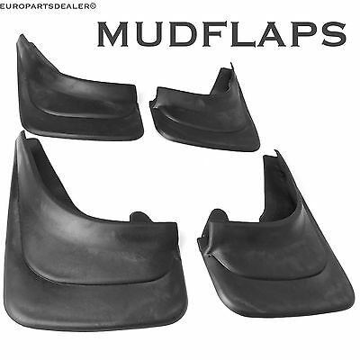 Set of 4x Rubber Moulded Universal MUD FLAPS GUARDS VAUXHALL ASTRA CORSA VECTRA