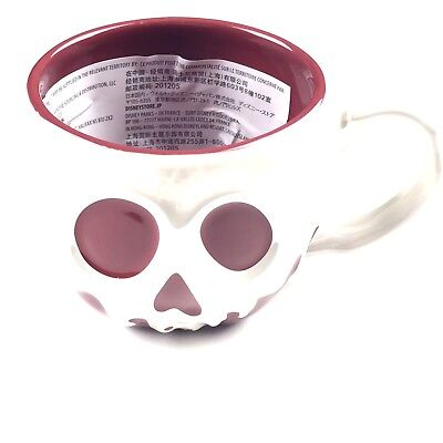Disney Parks Sculpted Poison Apple Coffee Mug Cup High Gloss Ceramic Snow White