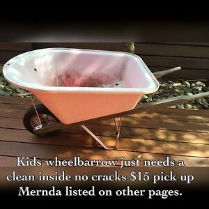 kids Wheelbarrow Mernda Whittlesea Area Preview