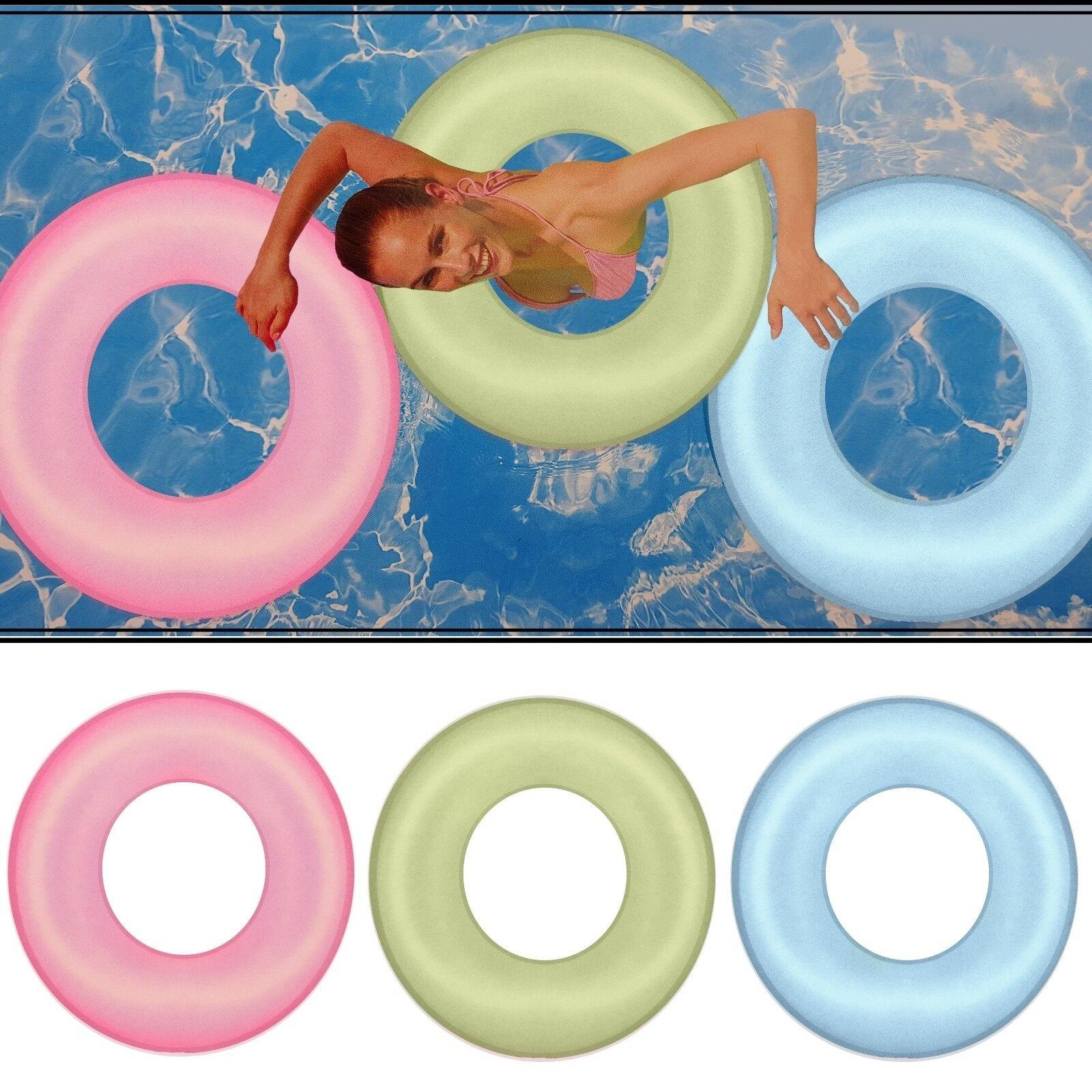 XL Schwimmreifen Schwimmring 76cm Wasserreifen Schwimm Ring Reifen Badespaß